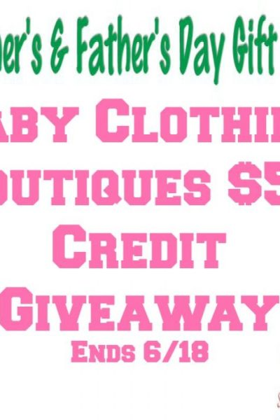 Baby Clothing Boutiques $50 Credit Giveaway