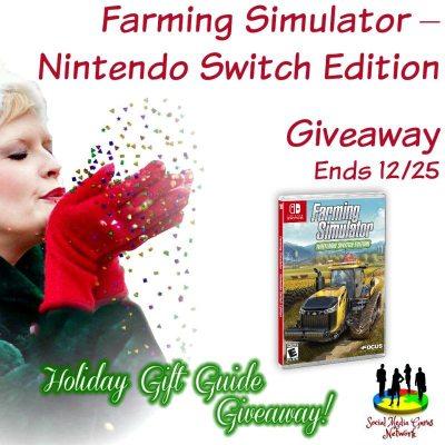Farming Simulator – Nintendo Switch Edition Giveaway @SMGurusNetwork @maximumgames