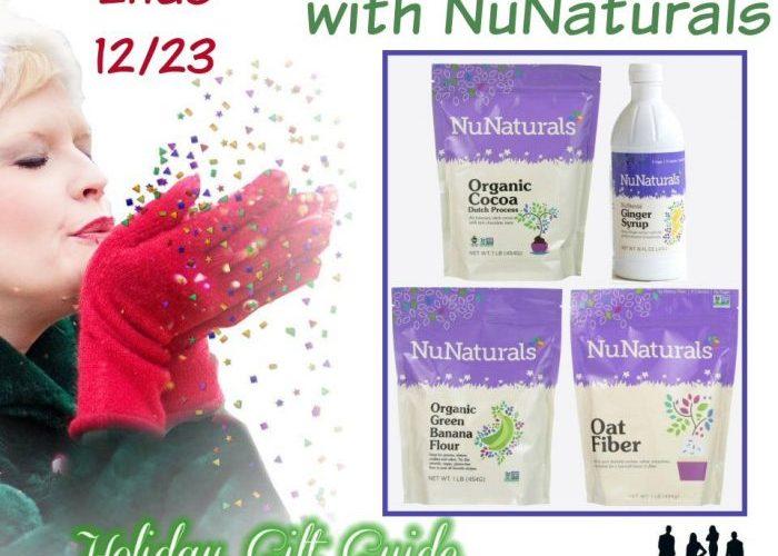 Holiday Baking with NuNaturals Giveaway @SMGurusNetwork @NuNaturals