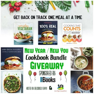 New Year ~ New You Cookbook Bundle Giveaway @SMGurusNetwork @timeinbooks