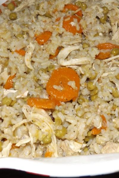 Instant Pot Chicken & Brown Rice