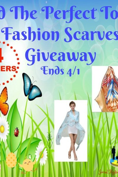 Add The Perfect Touch Fashion Scarves Giveaway @SMGurusNetwork