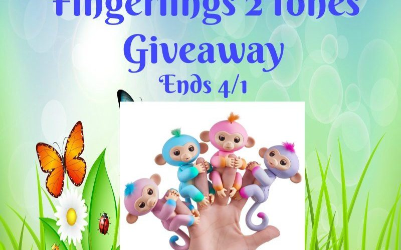 Easter Colors Fingerlings 2Tones Giveaway @SMGurusNetwork