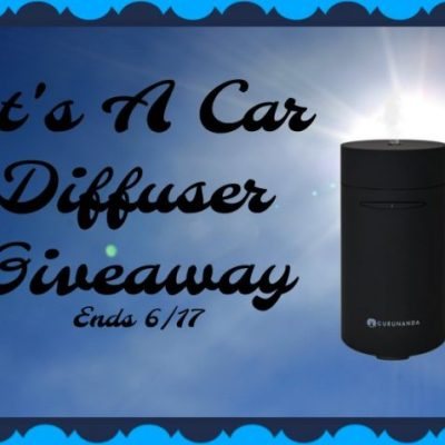 It's A Car Diffuser Giveaway @SMGurusNetwork