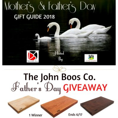 John Boos Co. Father's Day Giveaway  @SMGurusNetwork
