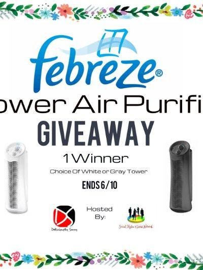 The Febreze® Tower Air Purifier Giveaway @SMGurusNetwork
