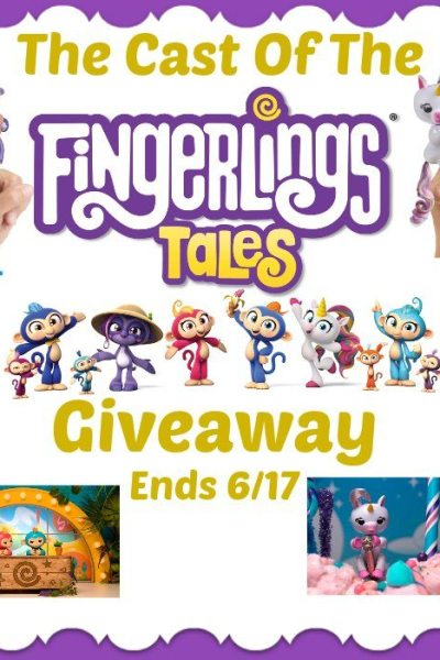 The Cast Of The Fingerlings Tales Giveaway