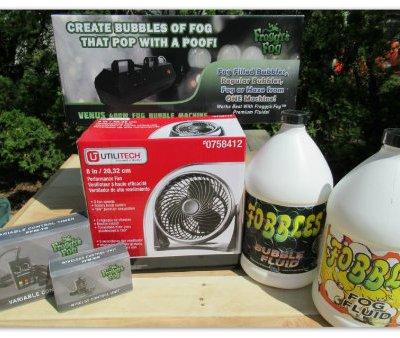 Fobbles Portable Fog & Bubble Machine Giveaway @SMGurusNetwork