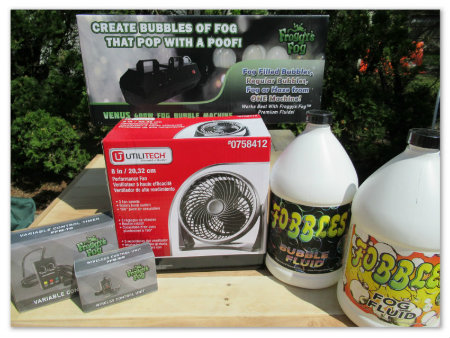 Fobbles Portable Fog & Bubble Machine Giveaway @SMGurusNetwork
