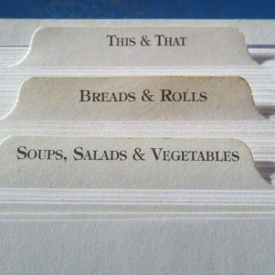How To Store and Organize Recipes Safely