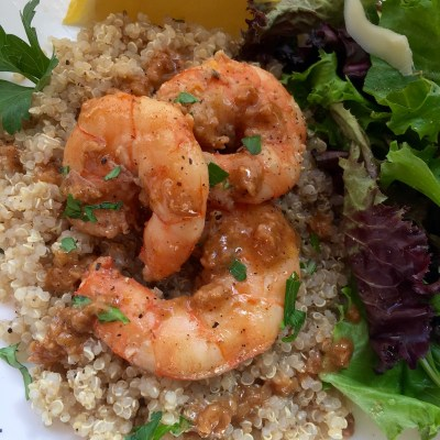 Lemon-Garlic Jumbo Shrimp
