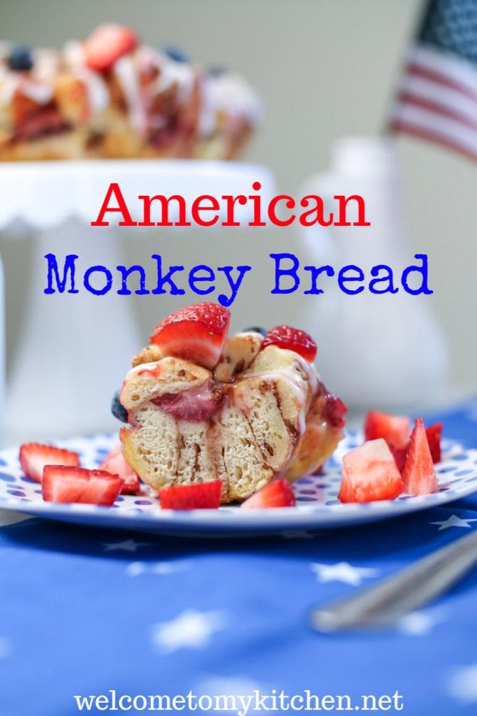 American Monkey Bread on a plate