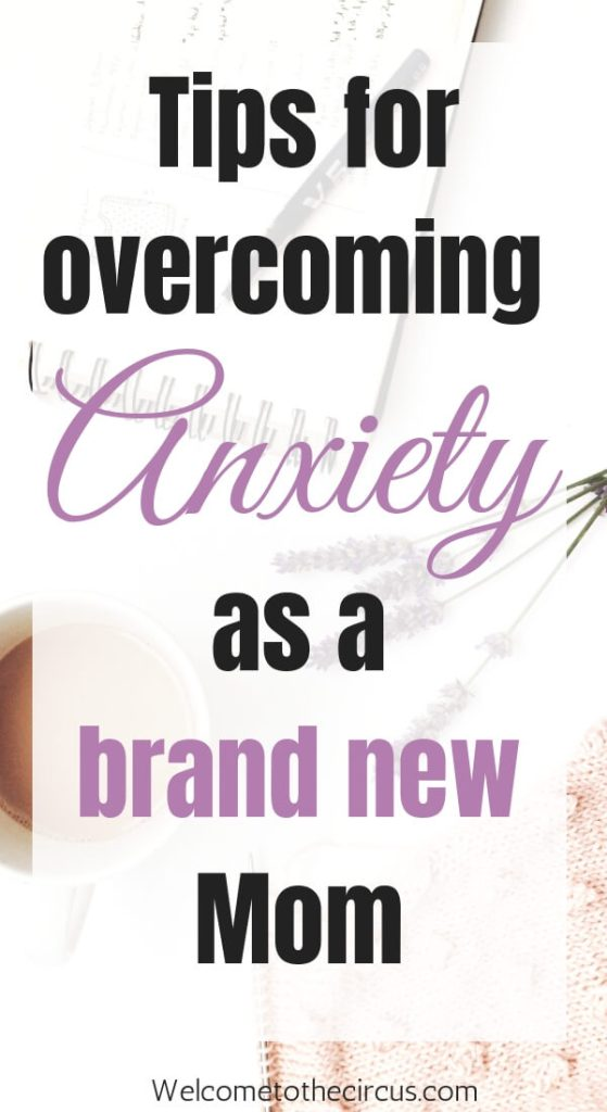 New Moms face a lot of anxiety that can be overwhelming. I share my story and some tips for anxiety relief for new Moms!