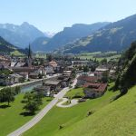 Zell am ziller panorama village