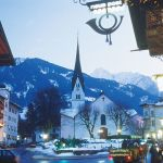 mayrhofen Church Village
