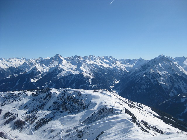 Zillertaler Alpen Winter