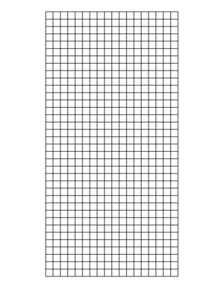 Weld Mesh Sheet Galvanised 2x2 8g 3ft X 6ft