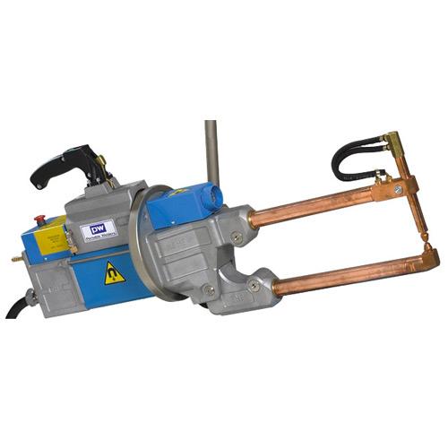 Light duty portable spot welding guns