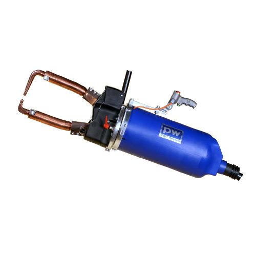 Portable spot welding guns