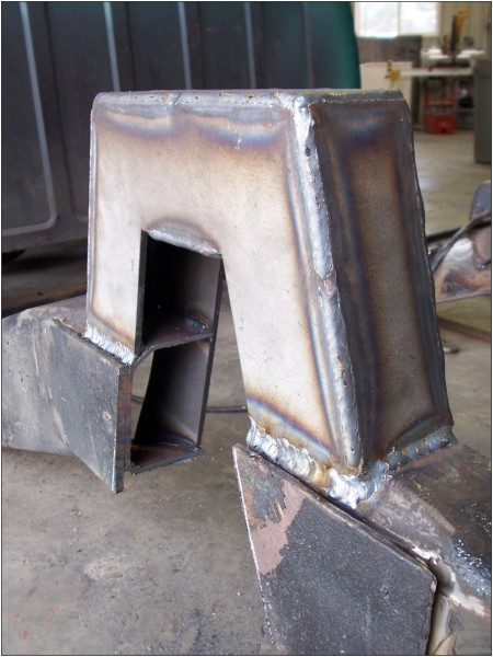 Get the included boxing plates ready to weld.