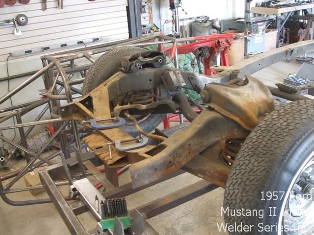 Mustang Ii Installation  1957 Ford