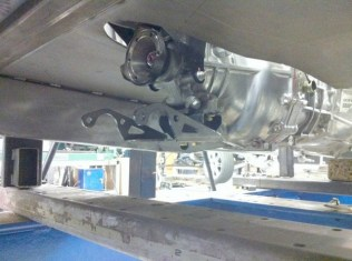 A Welder Series #WS40003 was adapted to the Ecotec transmission mount using a GM rubber insulator.