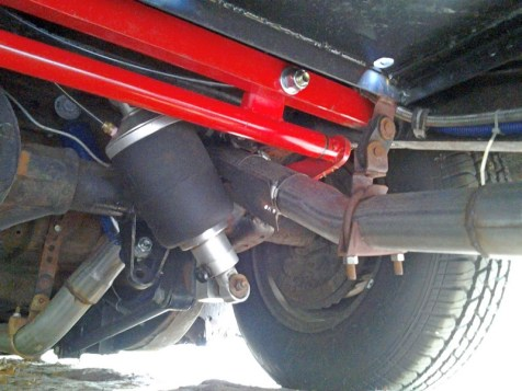 Sway bar installation 1