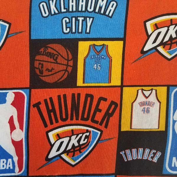 WELDING CAP MADE WITH Oklahoma City Thunder