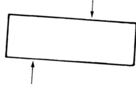 Diagram demonstrating metal shear strength
