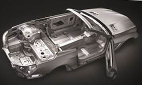 magnesium alloy car body