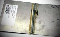 non-ferrous metal steel weld galvanized with zinc
