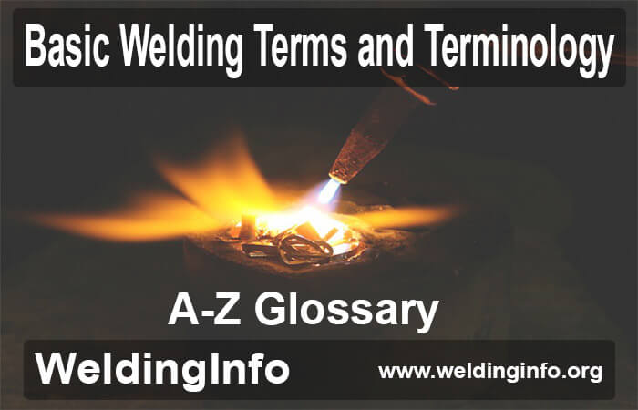welding terms