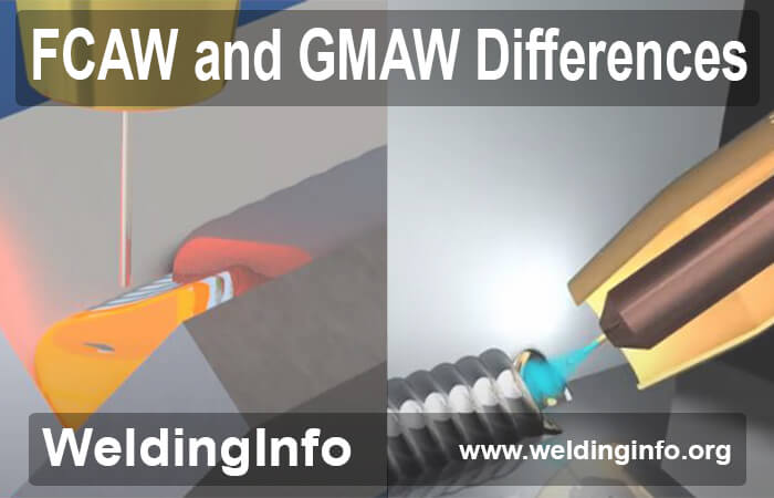 fcaw and gmaw differences