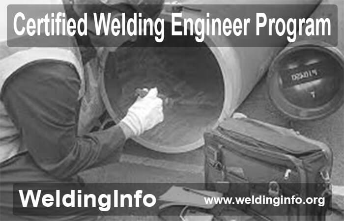 certified welding engineer