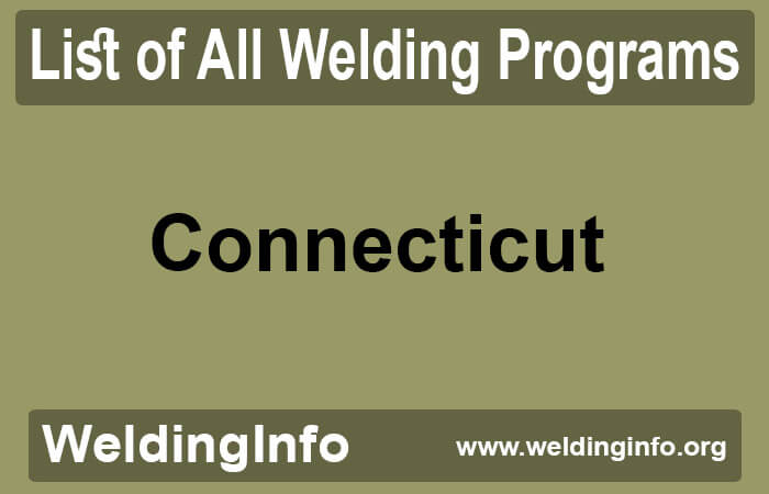 welding programs in connecticut