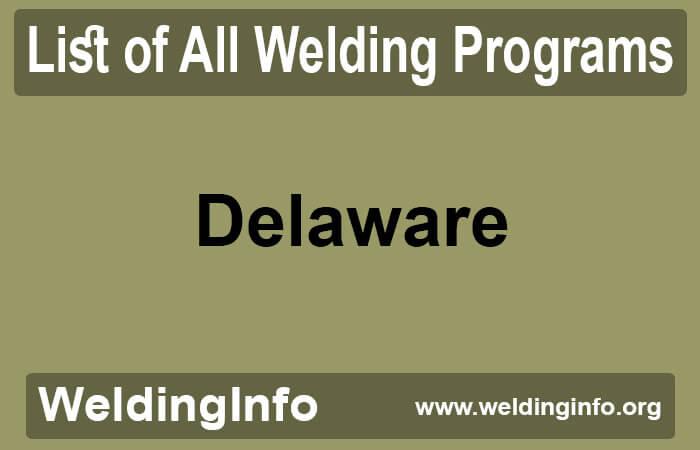 welding programs in delaware