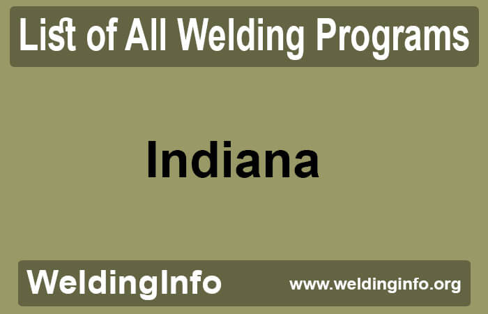 welding programs in indiana