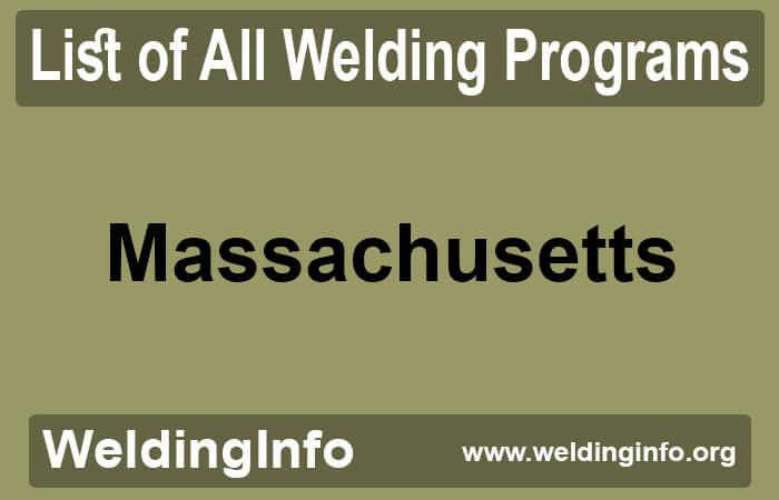 welding programs in massachusetts