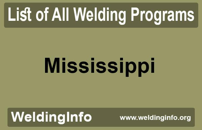 welding programs in mississippi