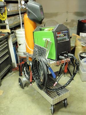 I have a 1970 ht panelvan which i am restoring. TIG Welder Cart