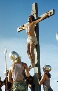 Crucifixion scene from 'Jesus Christ Superstar'