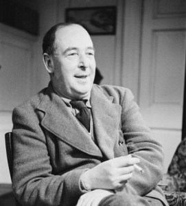 Writer and Christian apologist, C.S. Lewis (1898 - 1963)