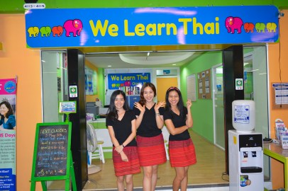 Fun and Energetic Staff at We Learn Thai