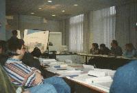 Aula presso L'European Journalism Centre - Maastricht