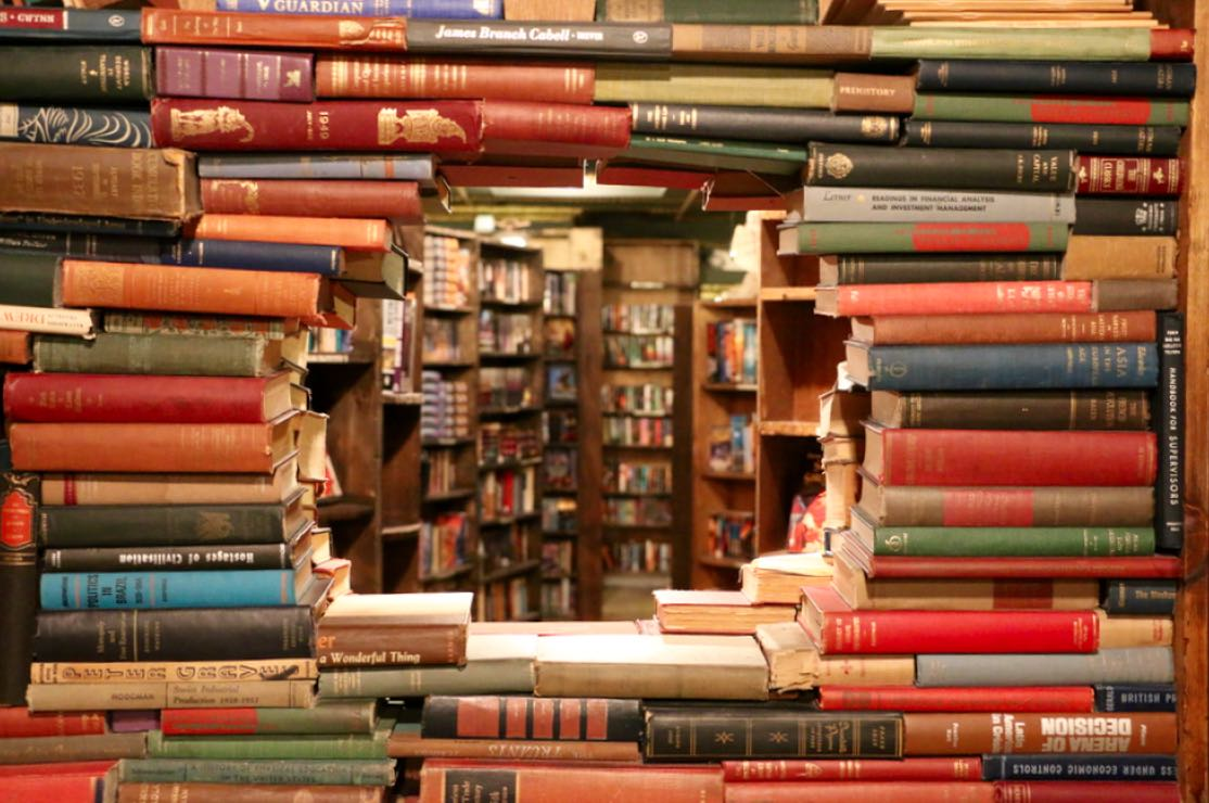 Image result for library vs bookstore