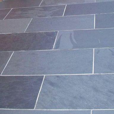 brazilian black slate external paving