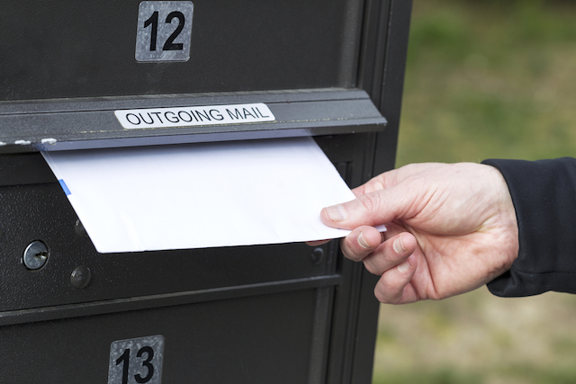 mail a letter