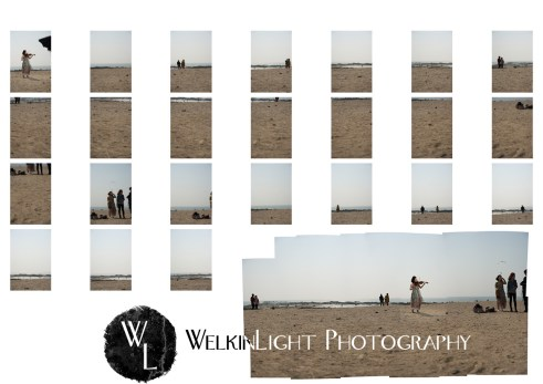 Violin Contact Sheet and Photomerge - Seoul Photographer
