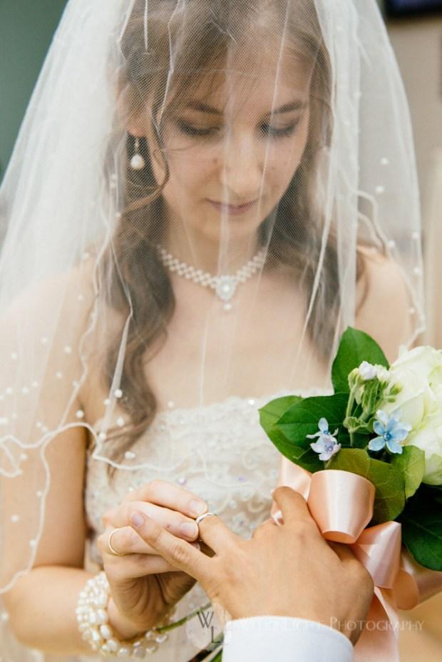 Seoul Wedding Ring Exchange