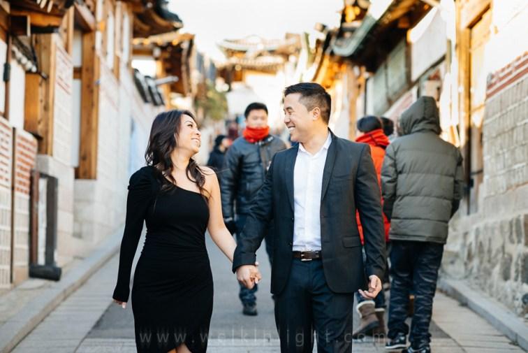 Korea Engagement Photographer
